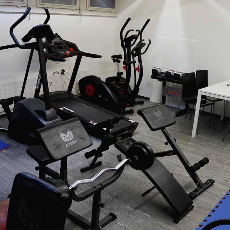 Fitnessgeräte bei Dojo Winti
